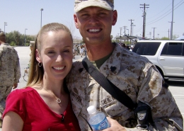 Marine Corps couple